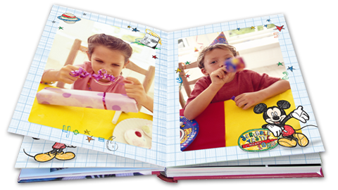 Disney Mickey Mouse Photo Book
