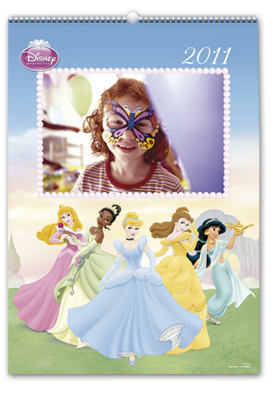 Disney Princess Wall Calendar (30x45)