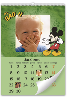 Disney Mickey Mouse Wall Calendar (30x45)