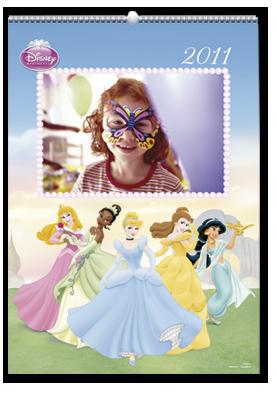Disney Princess Wall Calendar (22x30)