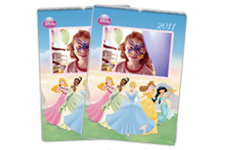Disney Princess Wall Calendar (22x30)
