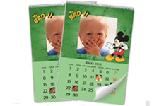 Disney Mickey Mouse Wall Calendar (22x30)